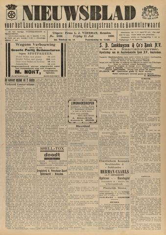 Nieuwsblad het land van Heusden en Altena de Langstraat en de Bommelerwaard 1930-07-11