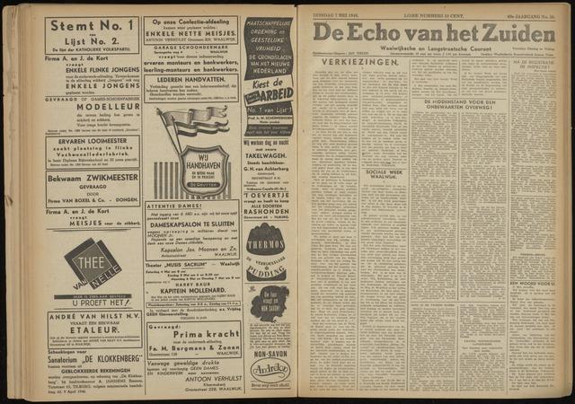 Echo van het Zuiden 1946-05-07