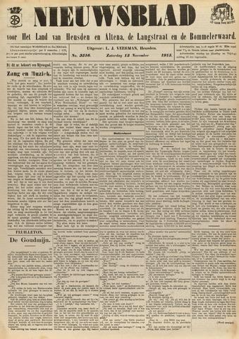Nieuwsblad het land van Heusden en Altena de Langstraat en de Bommelerwaard 1915-11-13