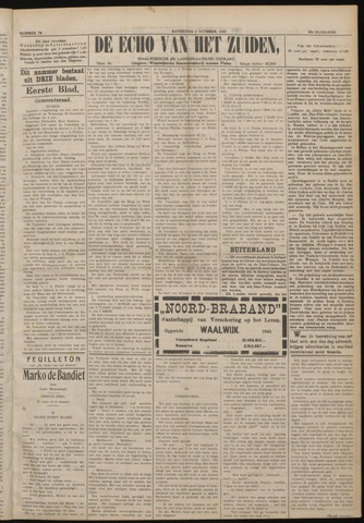 Echo van het Zuiden 1920-10-02