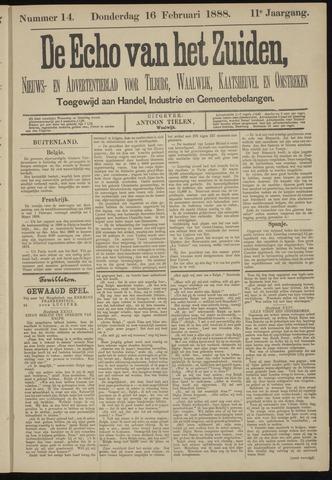 Echo van het Zuiden 1888-02-16