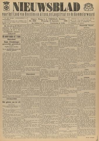 Nieuwsblad het land van Heusden en Altena de Langstraat en de Bommelerwaard 1930-09-10