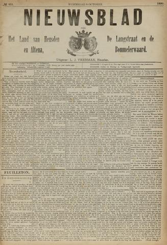 Nieuwsblad het land van Heusden en Altena de Langstraat en de Bommelerwaard 1890-10-08
