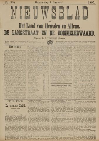 Nieuwsblad het land van Heusden en Altena de Langstraat en de Bommelerwaard 1885-01-01