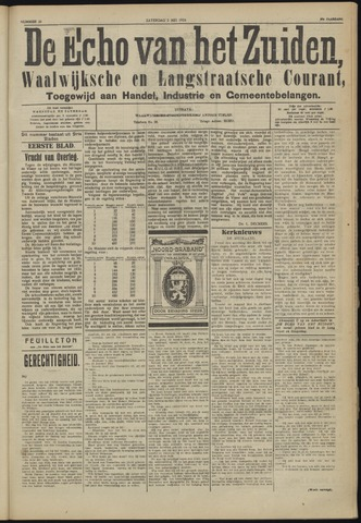 Echo van het Zuiden 1924-05-03