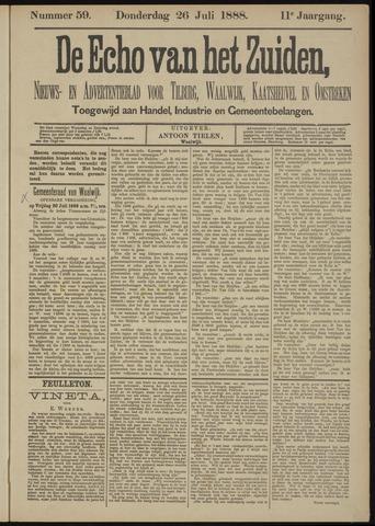 Echo van het Zuiden 1888-07-26