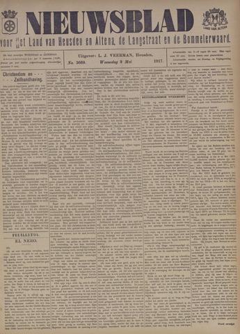 Nieuwsblad het land van Heusden en Altena de Langstraat en de Bommelerwaard 1917-05-09
