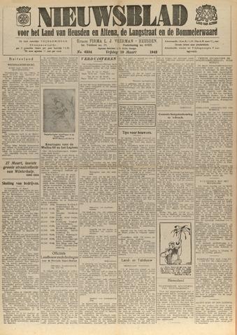 Nieuwsblad het land van Heusden en Altena de Langstraat en de Bommelerwaard 1943-03-19