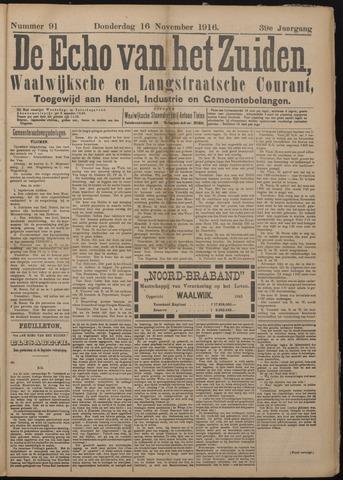 Echo van het Zuiden 1916-11-16