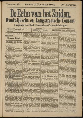 Echo van het Zuiden 1899-11-19
