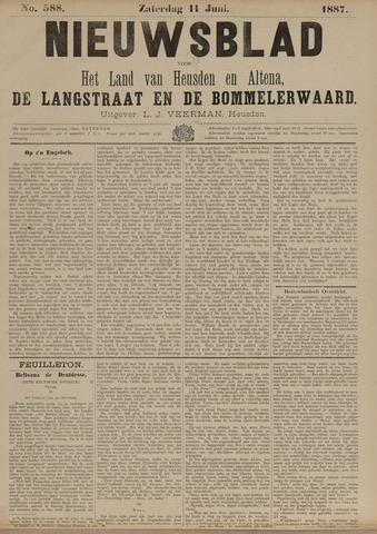 Nieuwsblad het land van Heusden en Altena de Langstraat en de Bommelerwaard 1887-06-11