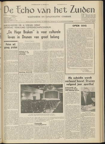 Echo van het Zuiden 1969-10-30