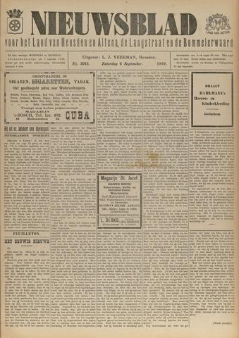 Nieuwsblad het land van Heusden en Altena de Langstraat en de Bommelerwaard 1919-09-06