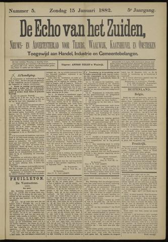 Echo van het Zuiden 1882-01-15