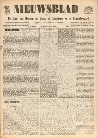 Nieuwsblad het land van Heusden en Altena de Langstraat en de Bommelerwaard 1905-01-04