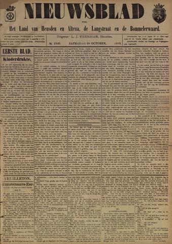 Nieuwsblad het land van Heusden en Altena de Langstraat en de Bommelerwaard 1893-10-28