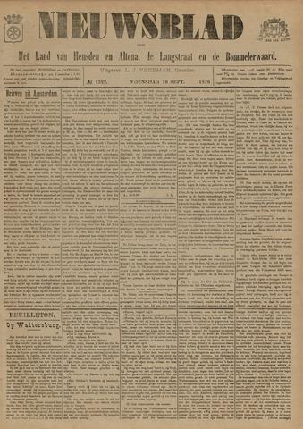 Nieuwsblad het land van Heusden en Altena de Langstraat en de Bommelerwaard 1896-09-16