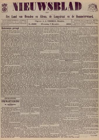 Nieuwsblad het land van Heusden en Altena de Langstraat en de Bommelerwaard 1910-12-07