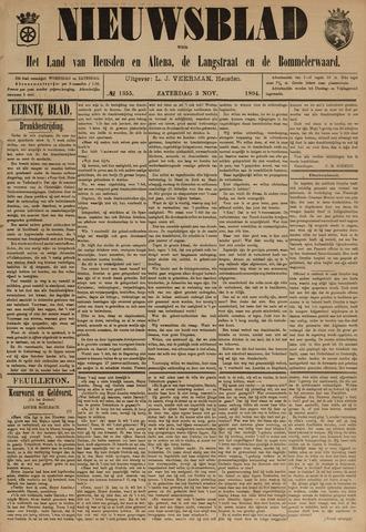 Nieuwsblad het land van Heusden en Altena de Langstraat en de Bommelerwaard 1894-11-03