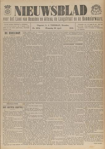 Nieuwsblad het land van Heusden en Altena de Langstraat en de Bommelerwaard 1919-04-30