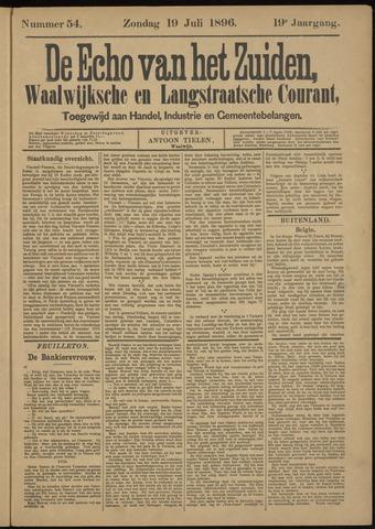 Echo van het Zuiden 1896-07-19