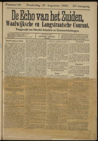 Echo van het Zuiden 1892-08-25