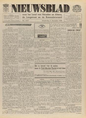Nieuwsblad het land van Heusden en Altena de Langstraat en de Bommelerwaard 1949-12-08