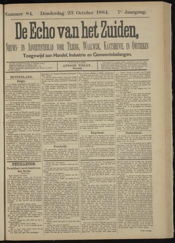 Echo van het Zuiden 1884-10-23