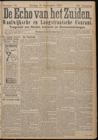Echo van het Zuiden 1913-09-21