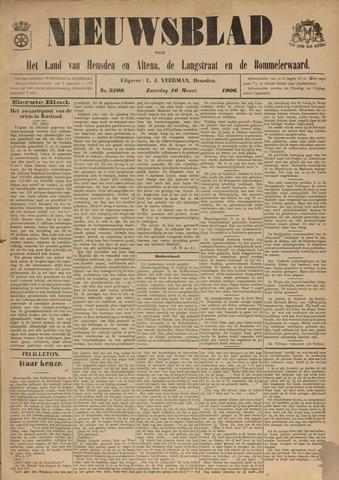 Nieuwsblad het land van Heusden en Altena de Langstraat en de Bommelerwaard 1906-03-10