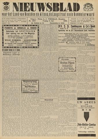 Nieuwsblad het land van Heusden en Altena de Langstraat en de Bommelerwaard 1929-07-05