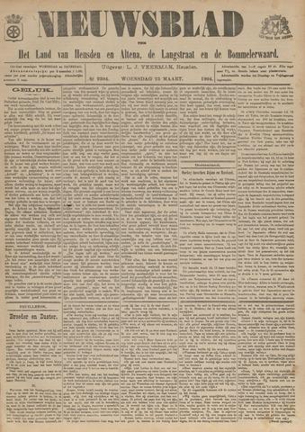 Nieuwsblad het land van Heusden en Altena de Langstraat en de Bommelerwaard 1904-03-23