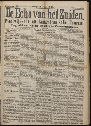 Echo van het Zuiden 1916-06-18
