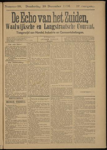 Echo van het Zuiden 1896-12-10
