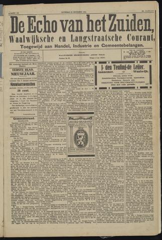 Echo van het Zuiden 1923-12-22