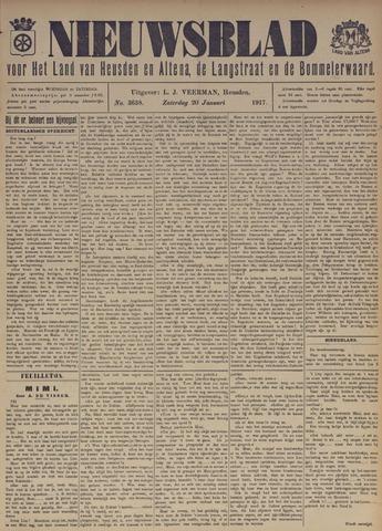 Nieuwsblad het land van Heusden en Altena de Langstraat en de Bommelerwaard 1917-01-20