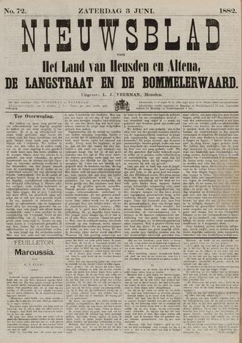 Nieuwsblad het land van Heusden en Altena de Langstraat en de Bommelerwaard 1882-06-03