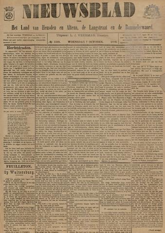Nieuwsblad het land van Heusden en Altena de Langstraat en de Bommelerwaard 1896-10-07