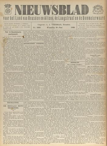 Nieuwsblad het land van Heusden en Altena de Langstraat en de Bommelerwaard 1920-06-30