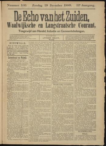 Echo van het Zuiden 1889-12-26
