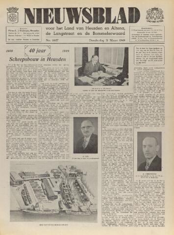 Nieuwsblad het land van Heusden en Altena de Langstraat en de Bommelerwaard 1949-03-31