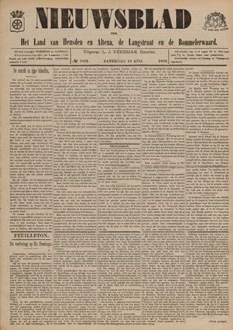Nieuwsblad het land van Heusden en Altena de Langstraat en de Bommelerwaard 1899-08-12