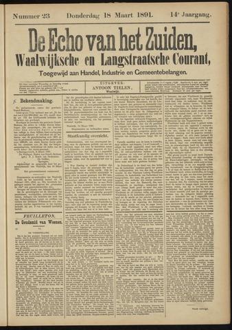 Echo van het Zuiden 1891-03-19