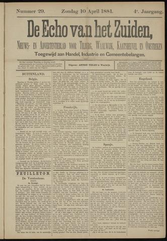 Echo van het Zuiden 1881-04-10