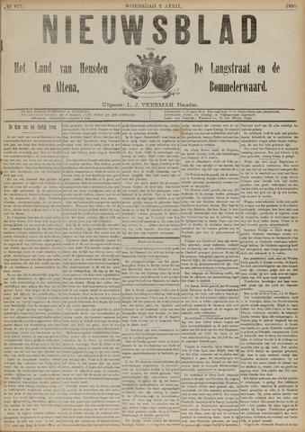 Nieuwsblad het land van Heusden en Altena de Langstraat en de Bommelerwaard 1890-04-02