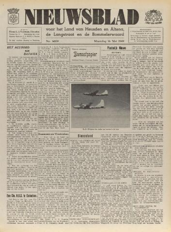 Nieuwsblad het land van Heusden en Altena de Langstraat en de Bommelerwaard 1949-05-16