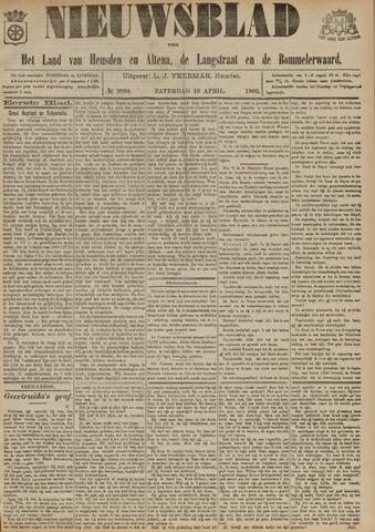 Nieuwsblad het land van Heusden en Altena de Langstraat en de Bommelerwaard 1902-04-19