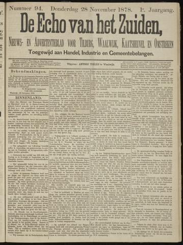 Echo van het Zuiden 1878-11-28