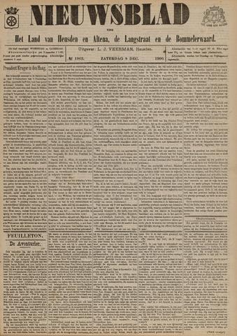 Nieuwsblad het land van Heusden en Altena de Langstraat en de Bommelerwaard 1900-12-08