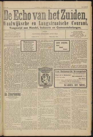 Echo van het Zuiden 1931-12-24